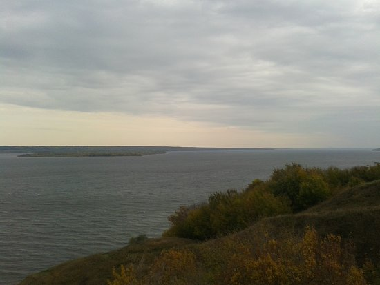 Watchtower on the bank of the Volga