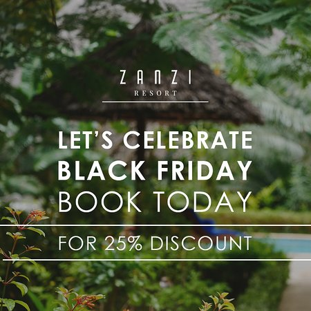 It's #BlackFriday so let's celebrate tradition, book today and get 25% discount for travel dates 09th December -20th December 2019.