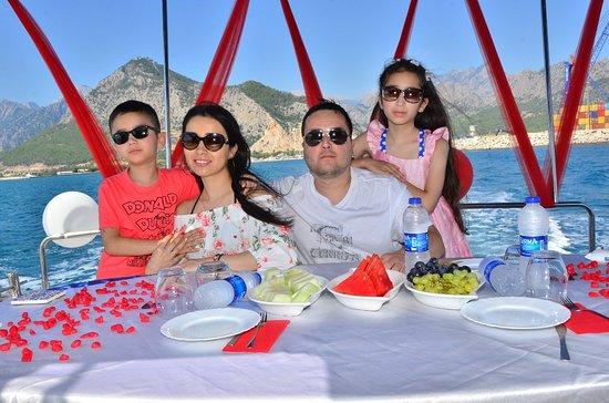 Dolphins yacht Antalya.