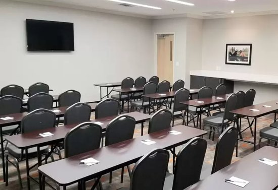 Our Meeting Room holds up to 60 people depending on the seating arrangement.