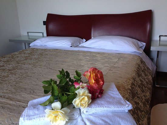 Monte Grimano Terme, Italia: Una delle Camere, la matrimoniale Rubino