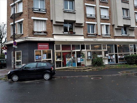 Bibliothèque de quartier Colonel-Fabien
