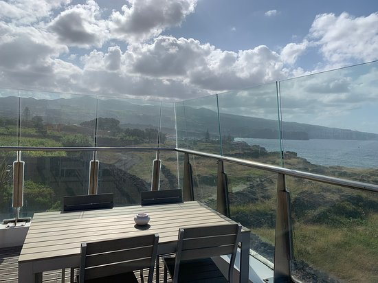 Sao Vicente Ferreira, Bồ Đào Nha: Private corner balcony