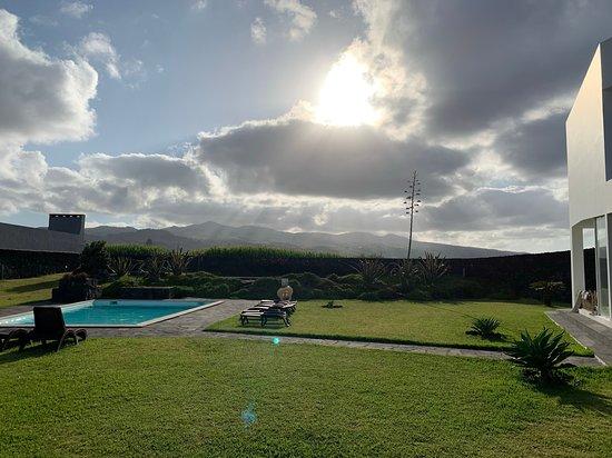 Sao Vicente Ferreira, Bồ Đào Nha: Pool behind property