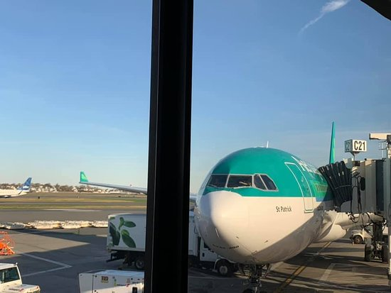 Aer Lingus: Before leaving Boston