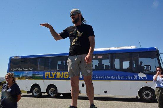 Ultimate Explorer - Top Rated New Zealand Adventure Tour: Robbie John tour guide, driver, story teller extraordinaire!