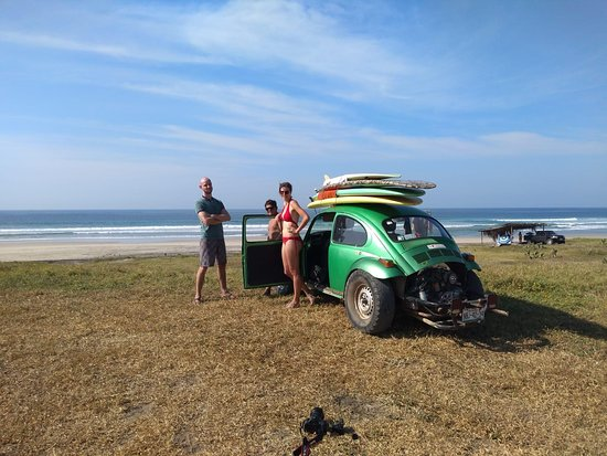 Pacific Surf Academy: us with donavan