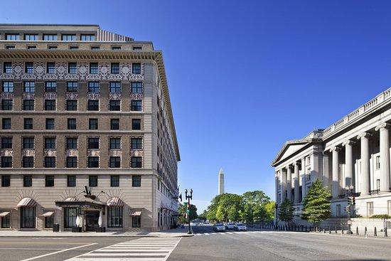 Washington DC krok upp