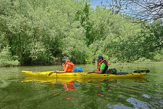 Belgrado War Island Kayak Tour