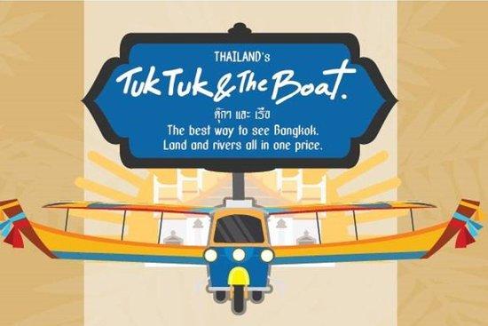 Thailand Tuk Tuk & The Boat