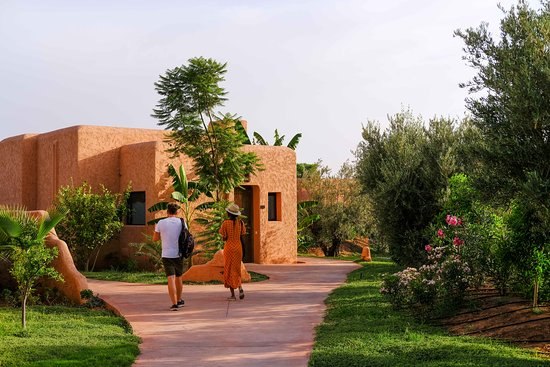 reasons to visit :@oasis_lodges . •the lodges are super nice. they have private gardens. •The hotel residents have free access to the swimming pool @oasiriaofficiel. •Spacious rooms and comfortable bedding . •the double room is from 1400dh for two people with breakfast and pool access. •It is located not far from Marrakech (10 min), easy access. •breakfast can be served in the room. •the dishes are really excellent and not very expensive. •the perfect place to connect body and mind. - Oasis Lodges, Marakeş Resmi - Tripadvisor