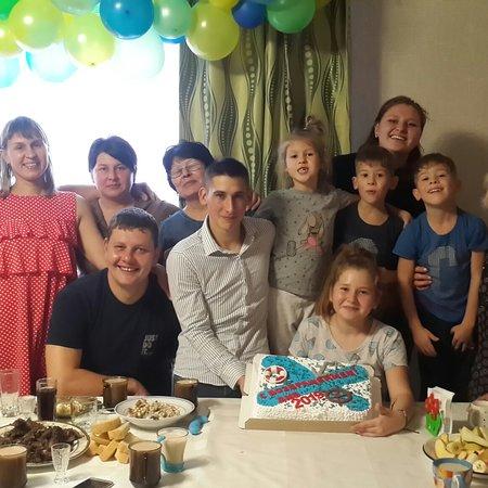 East Kazakhstan Province, Kasakhstan: Встреча сына с армии