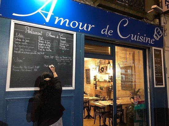 Tableau Dehors Picture Of Amour De Cuisine Nantes Tripadvisor