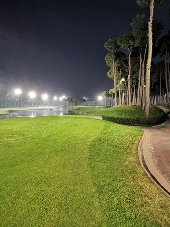 Epic night golf.