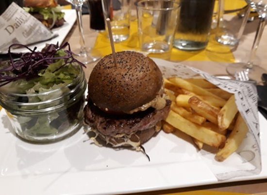 burger poivre fromage