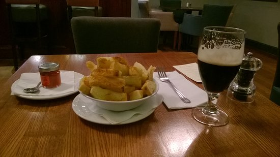 Bridge of Orchy, UK: Paprika dusted Chunky Chips