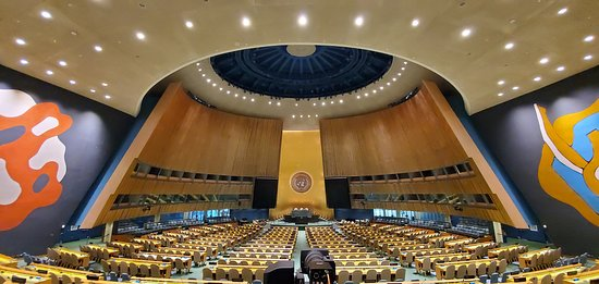 The General Assembly  where all 193 member states are equally represented.