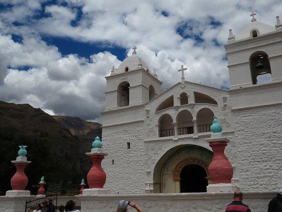 Maca, Peru: The church