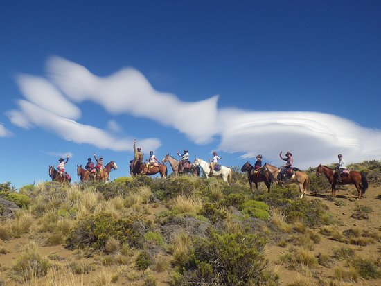 El Maiten, Argentina: un saludo desde la estepa Patagonica = greeting from the Patagonian steppe/landscape