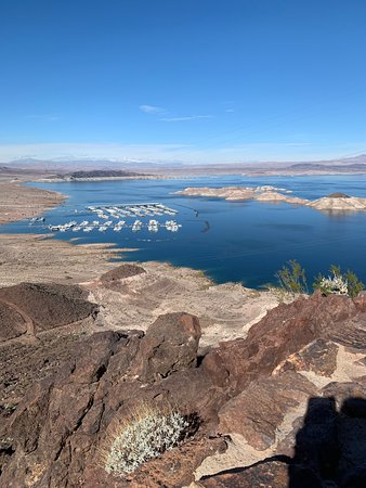 Hoover Dam, Lake Mead, & Chocolate