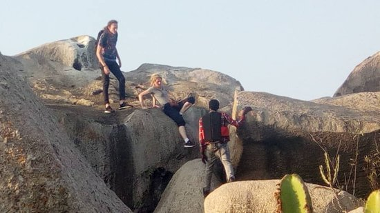 Geita, Tanzania: rock hiking