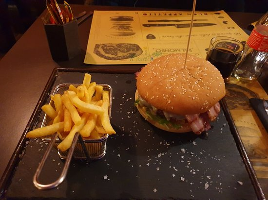 Beba Steakhouse: Hamburger Bonnie