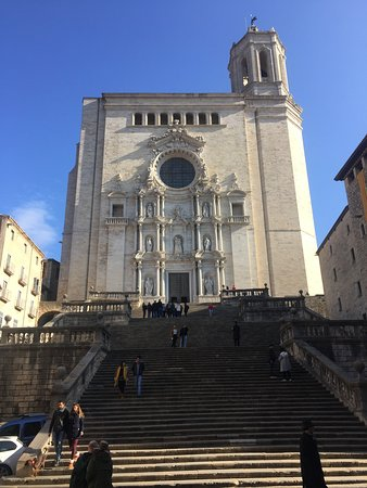 the cathedral and its steps but a must visit