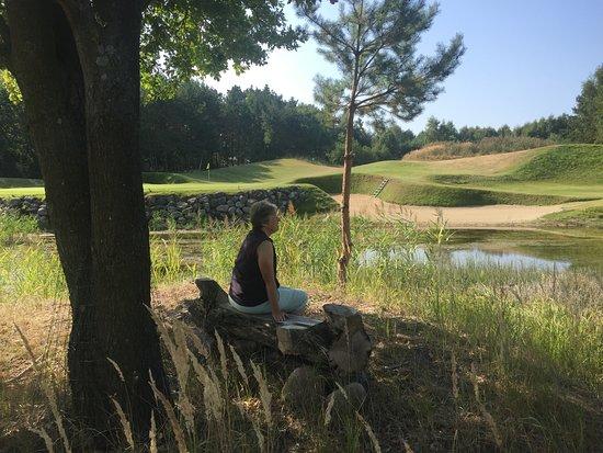 Ein 18-Loch Golfplatz der Extraklasse in einer Naturlandschaft von unglaublicher Schönheit !