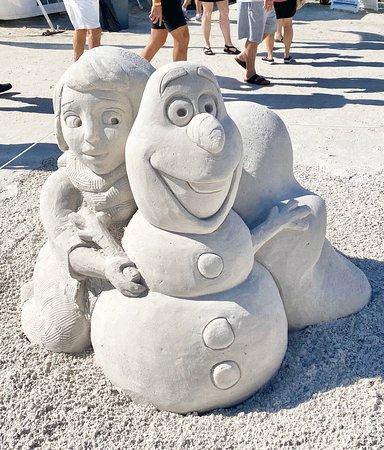 Family Fun - Sand Sculpture Festival 2019