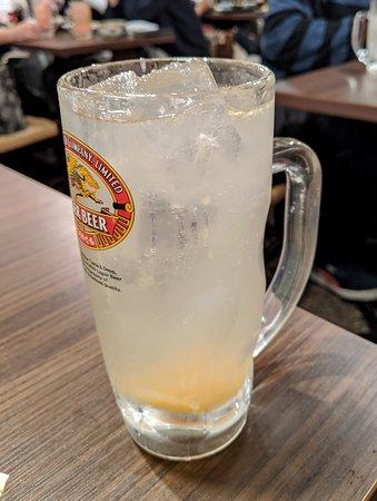 塩レモン酎ハイ