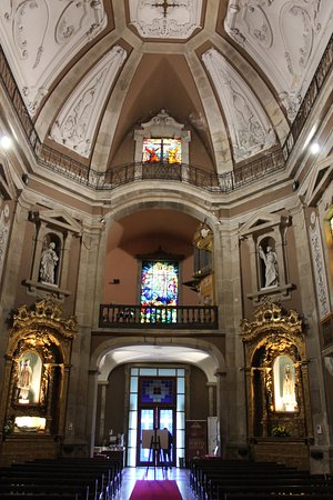 Interno Igreja de Santo Ildefonso