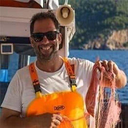 Selfie from Tasos - Picture of Fishing Trips Poros - Tripadvisor