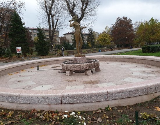 Park Zaimov Fountain