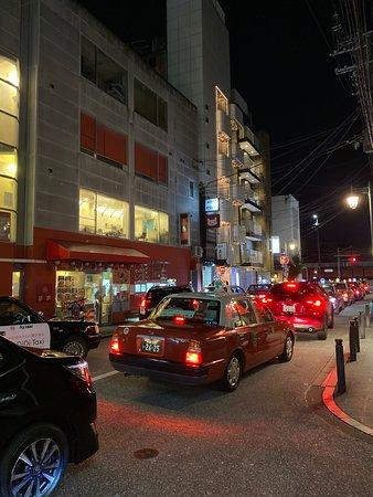 Taxi waiting