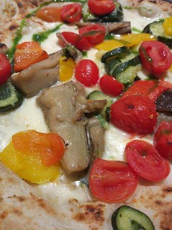 Pizza quadro d'autore