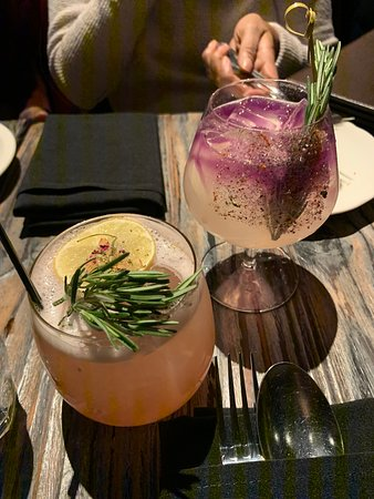 andaman breeze and passion fruit cocktail