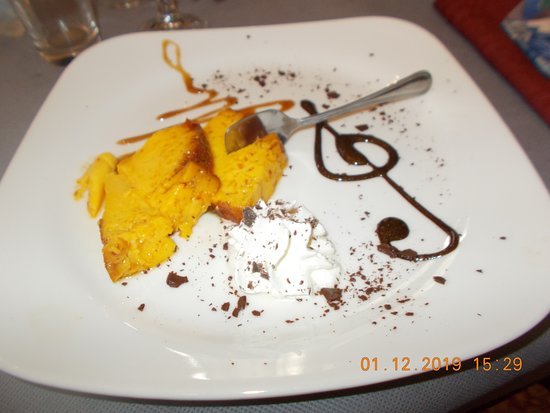 Madonna Dei Fornelli, Italia: creme caramel  delizioso