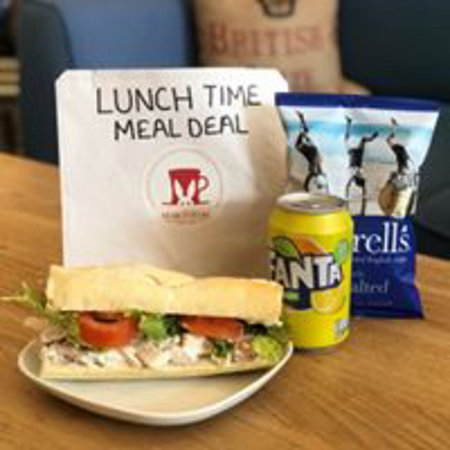 The March Hare Tearooms: Lunch time meal tea takeaway