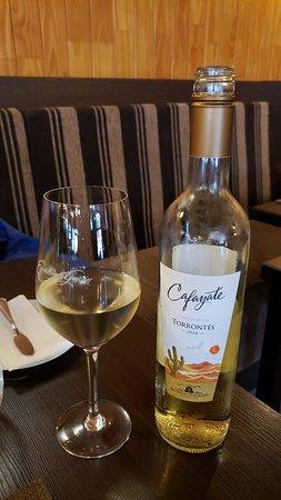 Aqva Restaurant: Torrontes White wine 520 peso