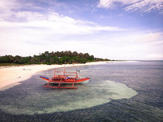 Balabac, Philippinen: Our private boats await