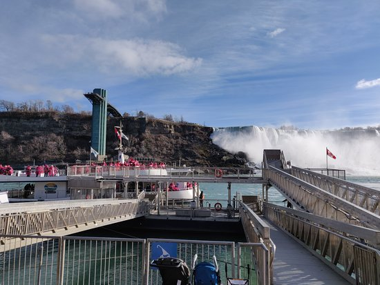 Niagara Falls, Canada: Voyage to the Falls Boat Tour in Canada: View