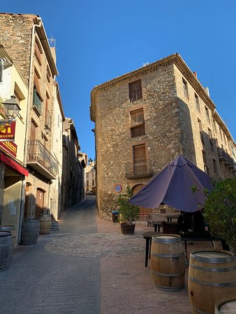 poble idíl·lic de Poboleda al Priorat
