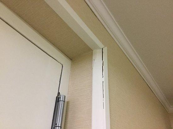Cracking door frames