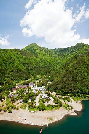 Hamayou Resort`s Aerial view