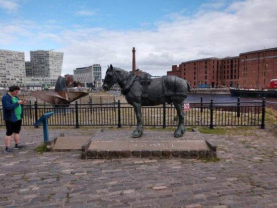 ‪Waiting: The Monument To The Liverpool Working Horse‬