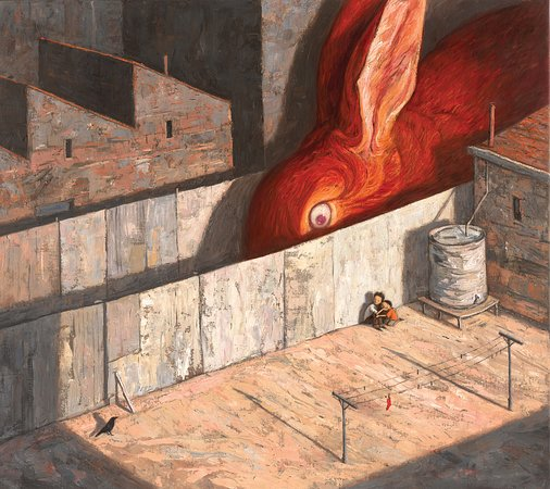 Healesville, ออสเตรเลีย: 'Another World' Exhibition with Shaun Tan & David Miller 6 Dec 2019 - 2 Feb 2020 Wed-Sun 11am-5pm