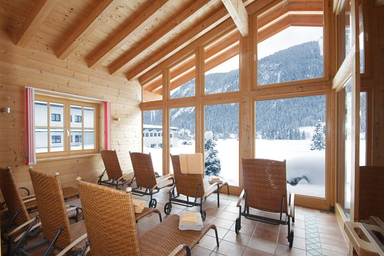 Sauna Alm im Winter :)