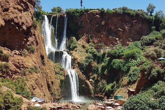 马拉喀什的乌祖瀑布瀑布一日游!