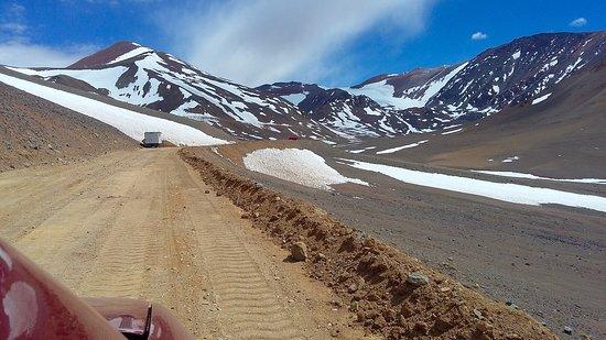 4300 m snm Cerro Agua Negra