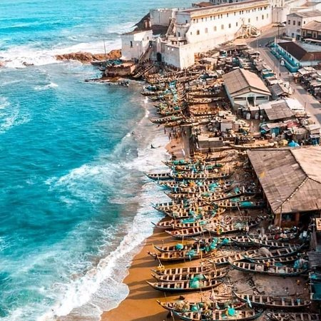 Visit the Cape coast Castle in Ghana.. Call on us; +233507071183